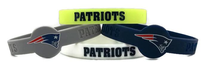NFL New England Patriots BRACELET - 4 Piece Set