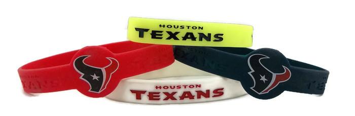 NFL Houston Texans BRACELET - 4 Piece Set