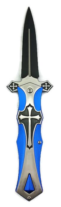 Blue Cross KNIFE - KS5440BL Cross
