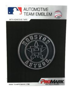 MLB Houston Astros Auto Emblem - Chrome