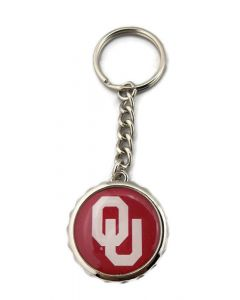 NCAA (OU) Oklahoma Sooners Keychain Bottle Cap