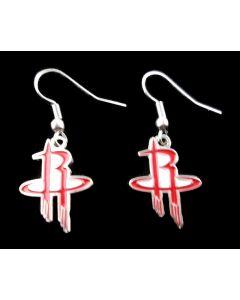 NBA Houston Rockets Earrings - Logo
