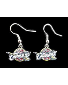 NBA Cleveland Cavaliers Earrings - Logo Dangle Earrings