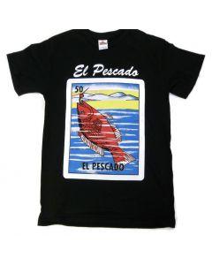 El Pescado Loteria T-Shirt
