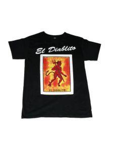 El Diablito Loteria T-Shirt