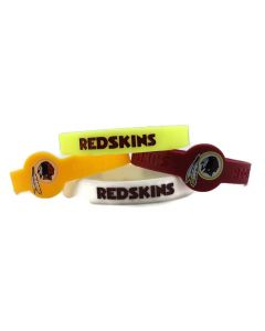 NFL Washington Redskins Bracelet - 4 Piece Set