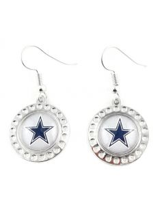 NFL Dallas Cowboys Earrings - Dimple