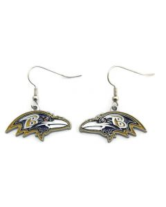 NFL Baltimore Ravens Earrings Logo