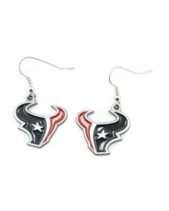 NFL Houston Texans Earrings Dangle Logo