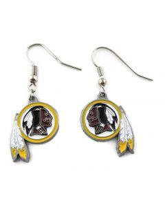 NFL Washington Redskins Earrings Logo