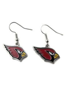 NFL Arizona Cardinals Earrings Logo