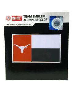 NCAA (UT) Texas Longhorns - State Flag Auto Emblem