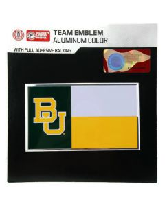 NCAA Baylor Bears - State Flag Auto Emblem