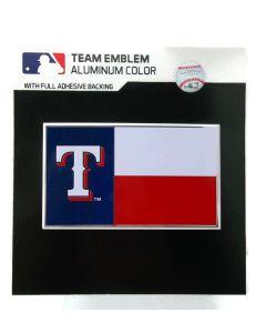MLB Texas Rangers - State Flag Auto Emblem