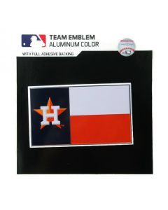 MLB Houston Astros - State Flag Auto Emblem