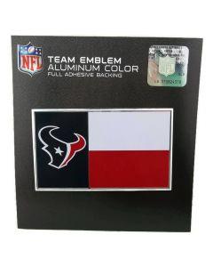 NFL Houston Texans - State Flag Auto Emblem