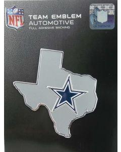 NFL Dallas Cowboys - Auto State Outline Emblem