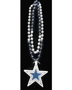 NFL Dallas Cowboys Logo Bead Necklace