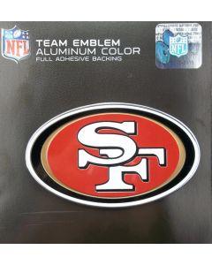 NFL San Francisco 49ers Auto Emblem - Color