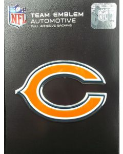 NFL Chicago Bears Auto Emblem - Color