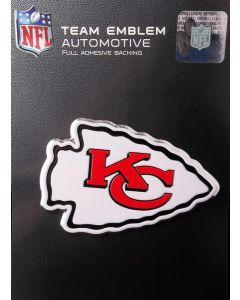 NFL Kansas City Chiefs Auto Emblem - Color