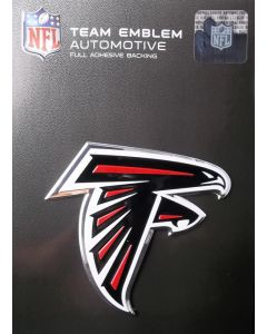 NFL Atlanta Falcons Auto Emblem - Color