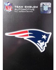 NFL New England Patriots Auto Emblem - Color