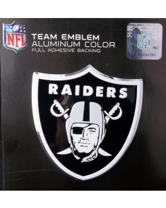 NFL Oakland Raiders Auto Emblem - Color