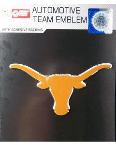 NCAA (UT) Texas Longhorns Auto Emblem - Color
