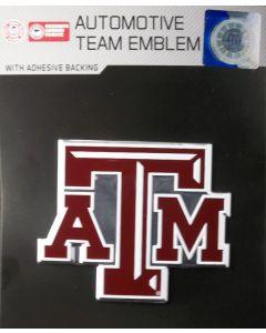 NCAA Texas A&M (Aggies) Auto Emblem - Color