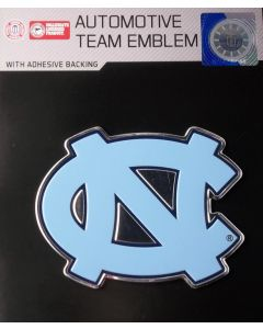 NCAA University of North Carolina - North Carolina Tar Heels Auto Emblem - Color
