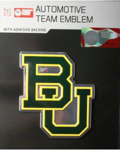 NCAA Baylor University - Baylor Bears Auto Emblem - Color