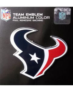 NFL Houston Texans Auto Emblem - Color