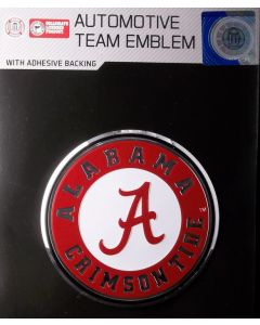 NCAA University of Alabama - Alabama Crimson Tide Auto Emblem - Color
