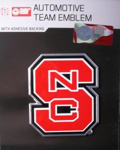 NCAA North Carolina State - North Carolina State Wolfpack Auto Emblem - Color