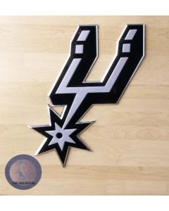 NBA San Antonio Spurs Auto Emblem - Color