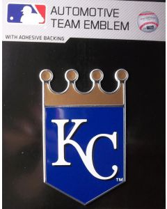 MLB Kansas City Royals Auto Emblem - Color