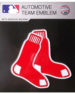 MLB Boston Red Sox Auto Emblem - Color