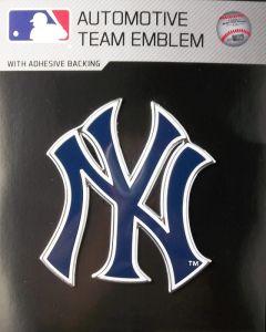 MLB New York Yankees Auto Emblem - Color