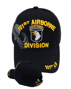 United States Army - 101st Airborne Division Military Hat-BK