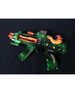 Gun with Man 250