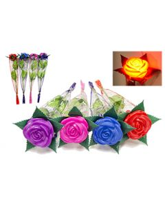 Light Up Rose Assorted- Multi Color Sold by the Dozen
