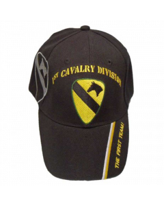 United States Army - 1st Cavalry Military Hat-BK