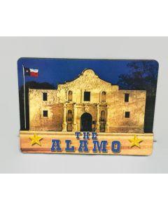 Magnet - San Antonio 3D Wood - The Alamo