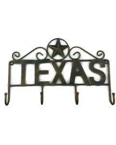 Texas Decor - Metal Hanging Hooks - Texas Star - A11001