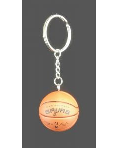 NBA San Antonio Spurs Keychain Basketball