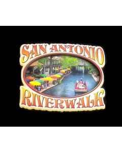 Magnet - San Antonio (SA) 3D Riverwalk