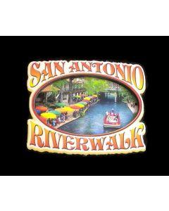 Magnet - San Antonio (SA) 3D Riverwalk