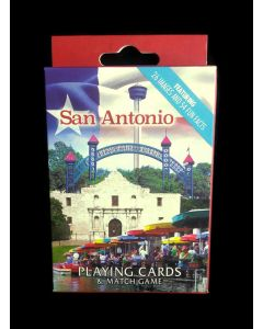 Playing Card - San Antonio