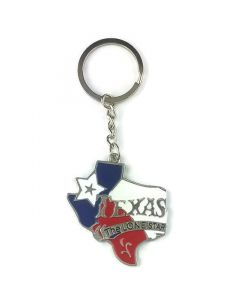 Keychain (KC) 66412 Texas Lone Star - SOLD BY THE DOZEN ONLY